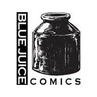 Blue Juice Comics Logo